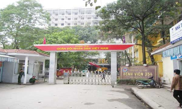 Hình ảnh: Bệnh viện Quân Y 354, Hà Nội