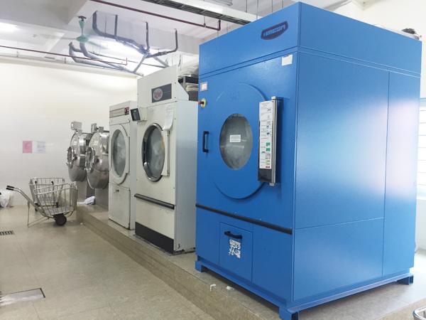 Hình ảnh: Các thiết bị máy móc chủ yếu trong hệ thống giặt là