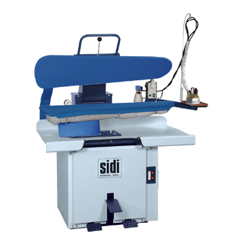 Máy là ép công nghiệp Sidi