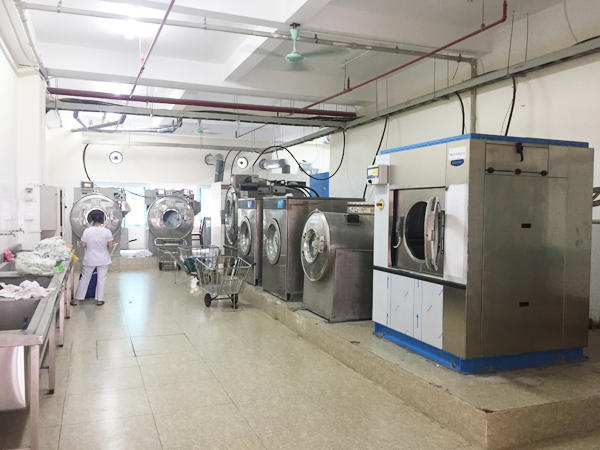 Hình ảnh:Mặt bằng tổng quan hệ thống giặt là công nghiệp