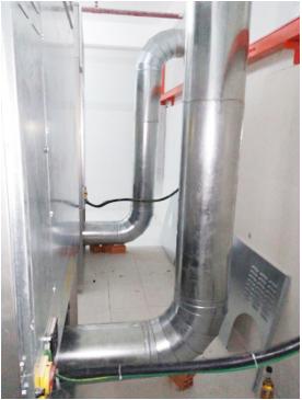 Ống thoát khí máy giặt công nghiệp