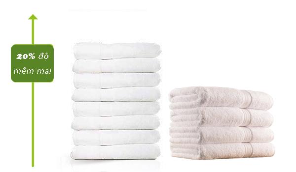 Bí quyết giặt giúp khăn bông luôn mềm mại