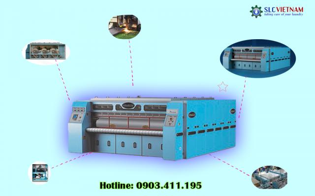 Hệ thống máy là ủi ga Braun