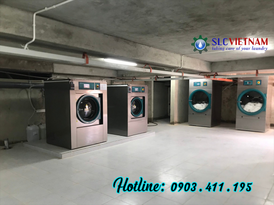 Hệ thống máy giặt sấy công nghiệp Primer