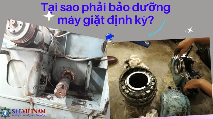 Tại sao phải bảo dưỡng máy giặt định kỳ